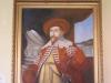 Oljemålning på papp, Gustav II Adolf